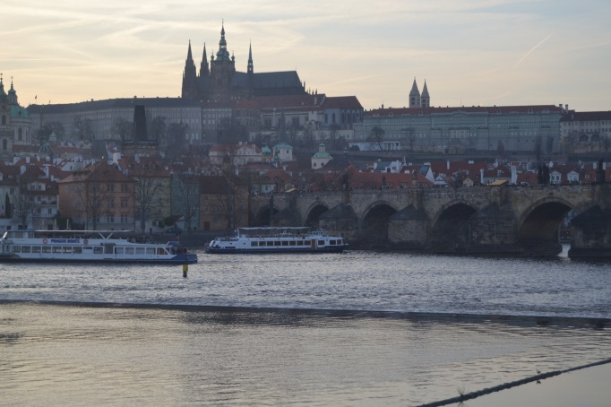 St. Vitus Cathedral from a distance