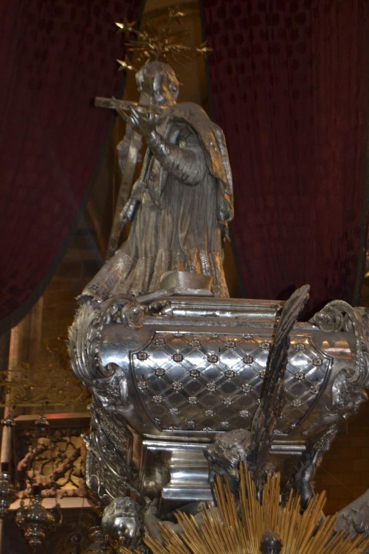 Baroque Silver Tomb of St. John Nepomuk