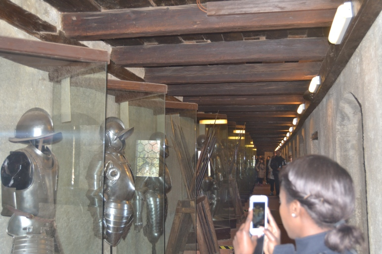 The medieval Armour for Soldiers in Bohemia in the Prague Castle
